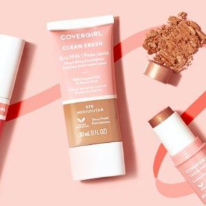 CoverGirl Goes Clean With A $10 Collection & It's All About The Glow